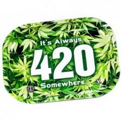 Tabuleiro 420 em metal 27 x...