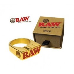 RAW GOLD RING Tamanho 10 -...