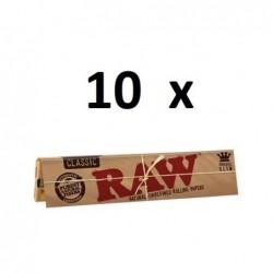 10 x  Raw King Size Classic...