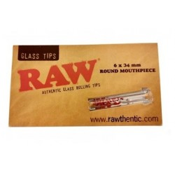 Raw Glass Tips Slim Round...