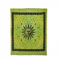 """Pano  """"Sol""""  em Verde  240..."""